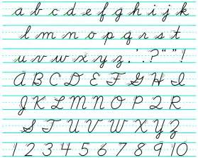 there s no reason for to learn cursive but