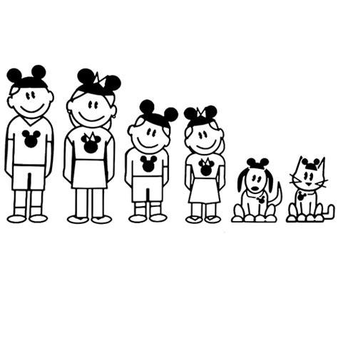 Window Decals Disney by Disney Family Die Cut Vinyl Decal Pv492 498