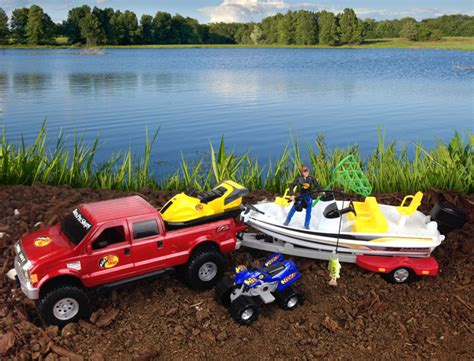 truck and boat trailer games the gallery for gt toy trucks with trailers and boat