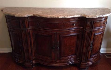 ad marble top foyer table credenza sideboard ads