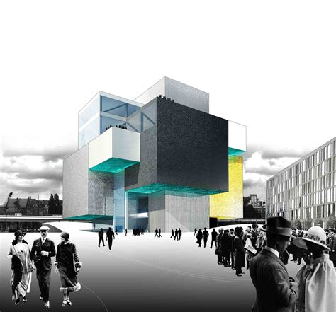 architecture company gallery of haus der zukunft competition entry project