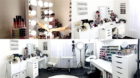 Ikea Makeup Vanity by Makeup Room Amp Filming Set Up Exciting News Youtube