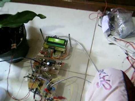 cara membuat robot otomatis sederhana penyiraman tanaman otomatis menggunakan mikrokontroler