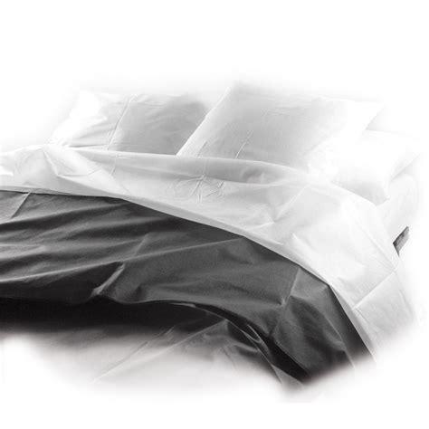 drap jetable du dessus protection literie jetable gplus