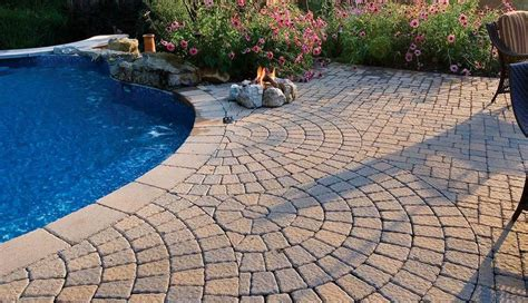 pool deck pavers paver pool patio deck ideas