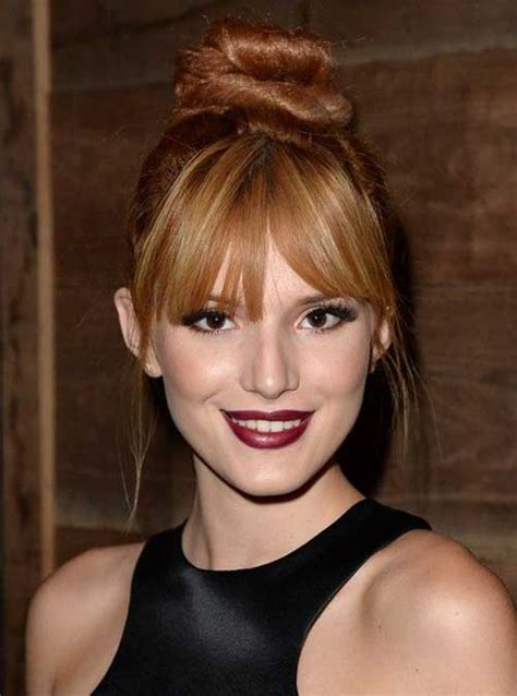 hairstyles with bangs and buns 20 bun hairstyles with bangs hairstyles haircuts 2016