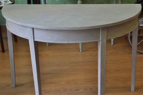 autentico chalk paint gris mesa pintada con la chalk paint de autentico