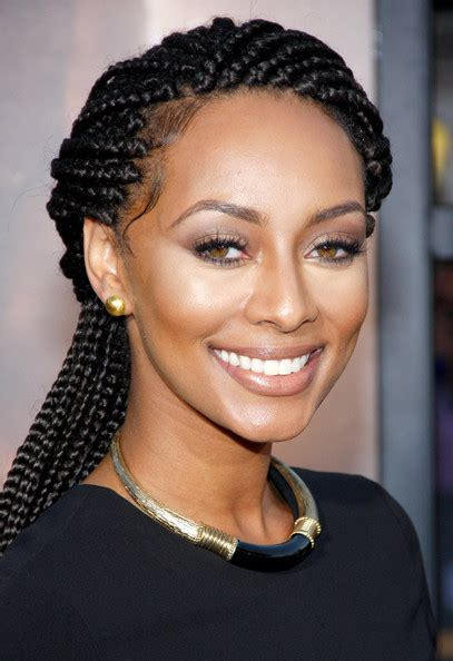 recent comment on african american braid style made by tv personality keri hilson photos photos riddick premieres in la