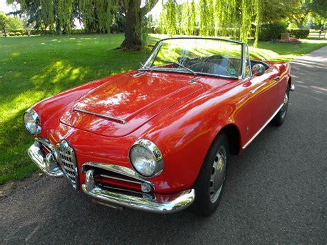 1965 Alfa Romeo Spider by 1965 Alfa Romeo Giulia 1600 Spider Sold