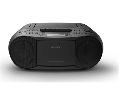 cd cassette player sony cfd s70 boombox lcd display cd cassette player am