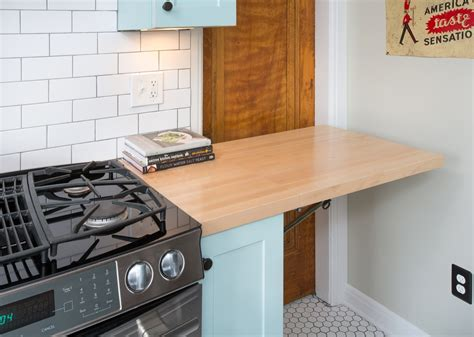 Maple Countertop by Custom Wood Surfaces For Small Spaces