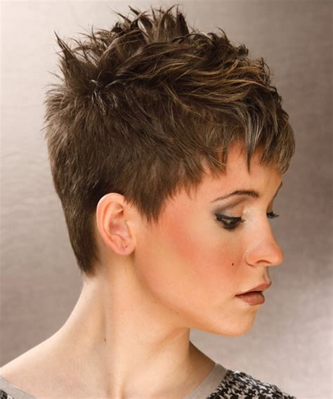 aveda short hair cuts short straight casual hairstyle light brunette ash