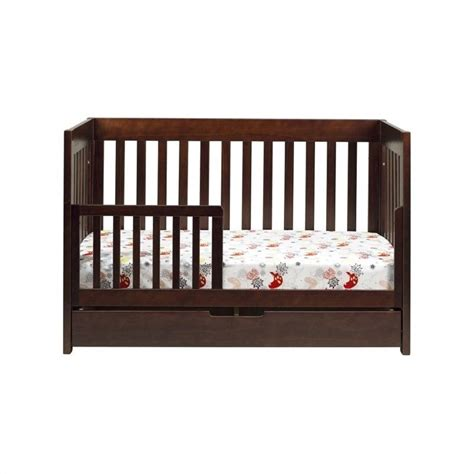 Wood Convertible Cribs Babyletto Mercer 3 In 1 Convertible Wood Crib In Espresso