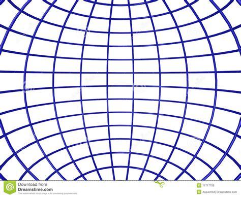 kugelle innen wireframe kugel nach innen stock abbildung illustration