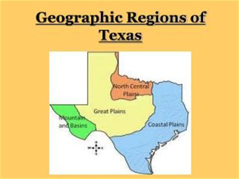 geographic id map texas ppt the seven geographic regions of washington state powerpoint presentation id 192968