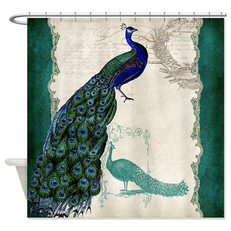 peacock shower curtain vintage peacock shower curtain whyrll com