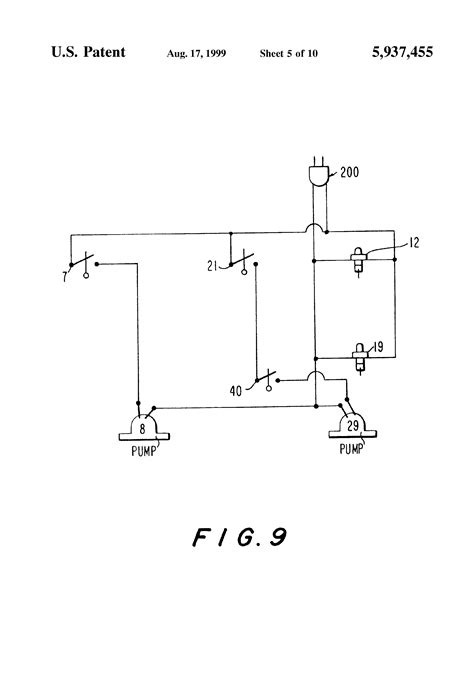 patent us5937455 electrically operated toilet water inlet valve system a variable fill