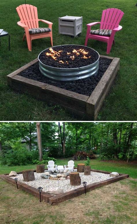 firepit in backyard 22 backyard pit ideas with cozy seating area