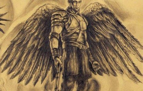 valley of death tattoo designs archangel gabriel with the verse yea though i