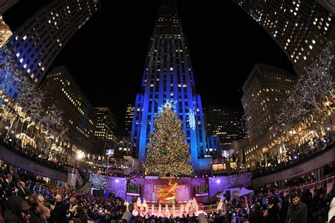 how many lights are on rockefeller christmas tree 2008 in rockefeller center tree lighting ceremony zimbio