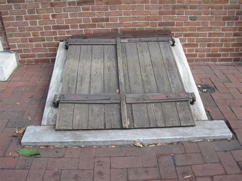 Basement Door by Society Hill From Philadelphia