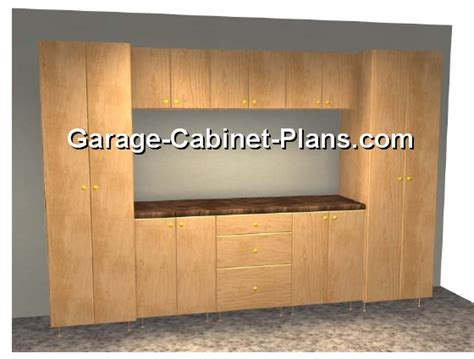 build your own cabinet garage cabinet plans build your own garage cabinets
