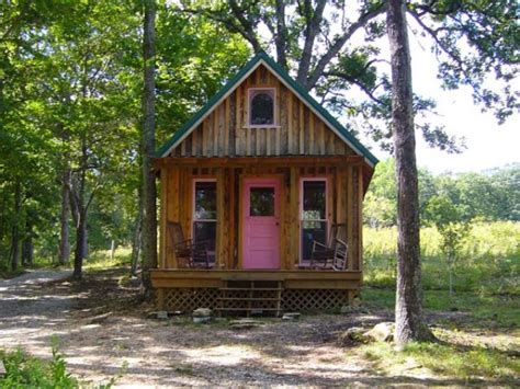 Tiny Cabin by Tiny Cabin On 6 Acres For Sale In Missouri Tiny House Pins