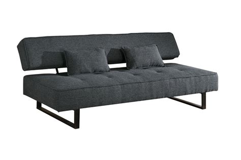 Armless Futons by Grey Armless Futon 300137