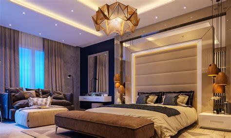 sleeptime luxurious    stunning bedroom spaces