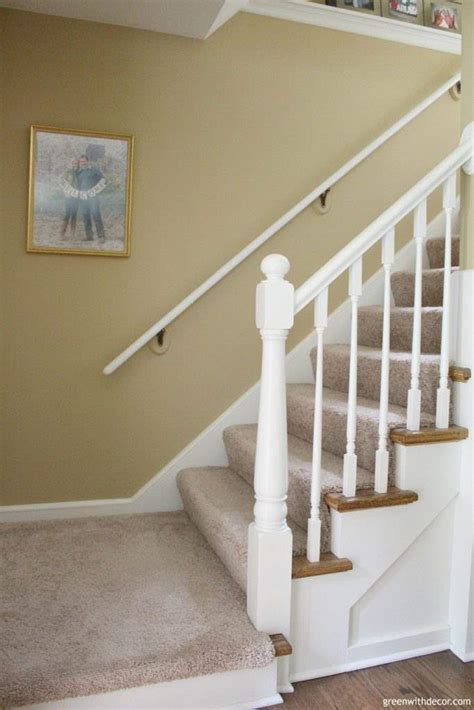 wall banister green with decor summer home tour