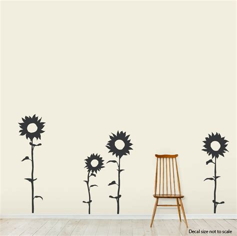 sunflower wall stickers sunflower wall decals quotes