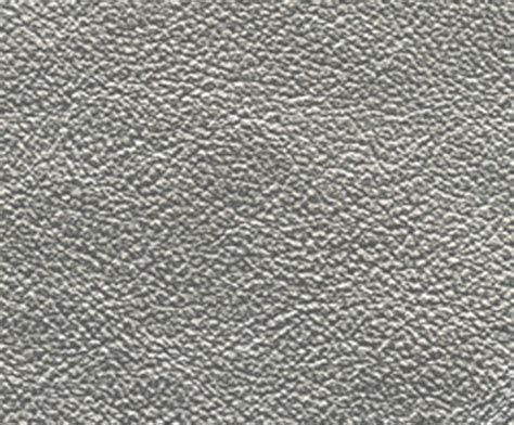 Silver Leather metallic and pearlized leather domestic contract
