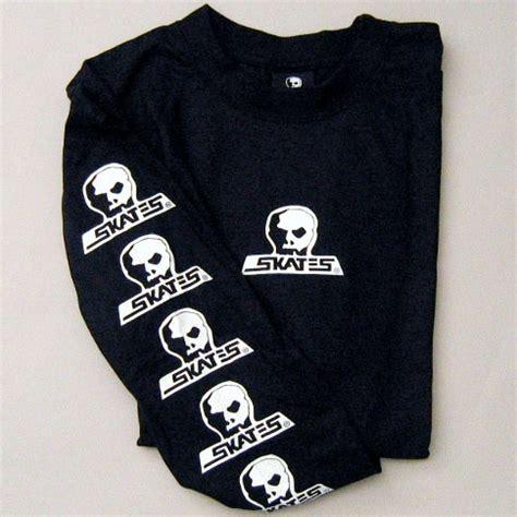 Tshirt Volcom Logo Bc skull skates logo longsleeve t shirt black canada s