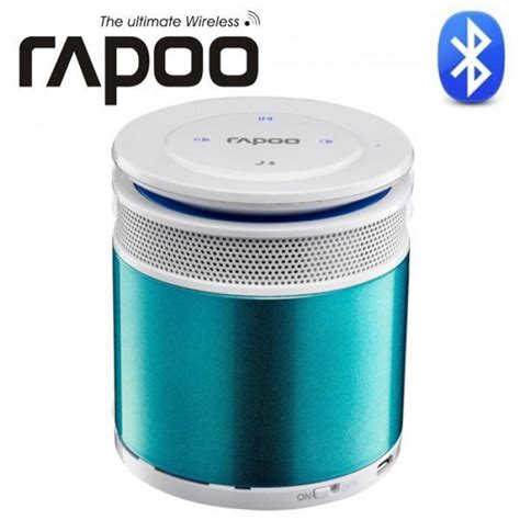 Rapoo A3060 Mini Portable Bluetooth Speaker Silver buy from radioshack in rapoo a3060 bluetooth mini portable speaker blue for only