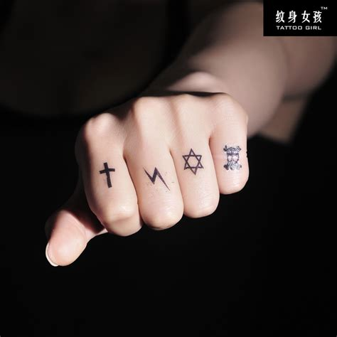 small cross tattoo on finger amazing small cross on finger