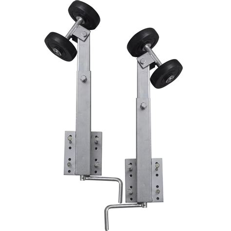 boat trailer double roller bow support set of 2 2 3 - Boat Trailer Double Rollers