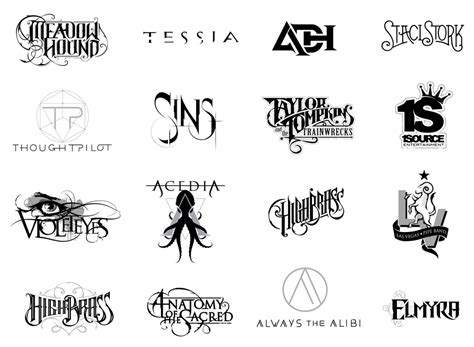 design free band logo exothermic design graphic design for bands