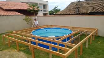 pool deck bauen pallet outdoor swimming pool 101 pallets