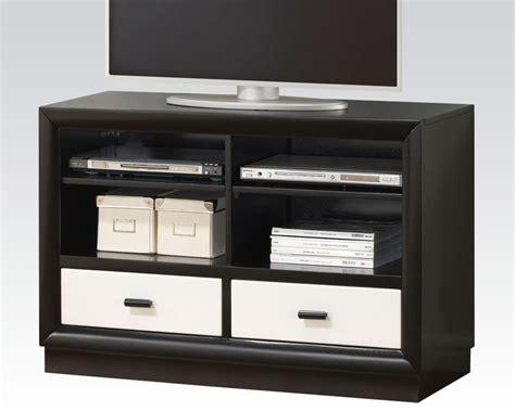 modern tv console acme modern tv console debora ac20617