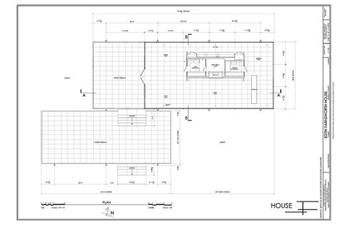 Farnsworth House Floor Plan Dimensions | plan edith farnsworth house 14520 river road plano