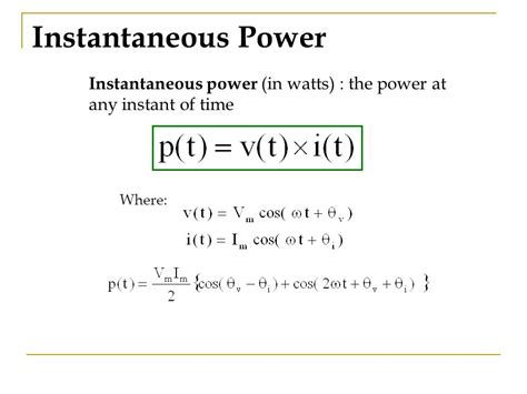 instantaneous power of an inductor at what instant of time is the voltage across the inductor maximum 28 images inverter ppt