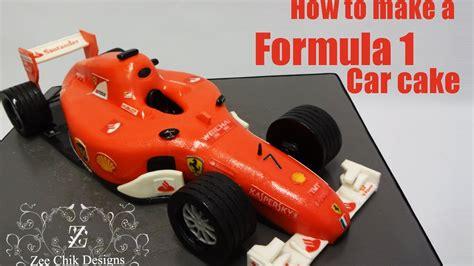 How To Make A F1 Car Out Of Paper - how to make a formula 1 car cake