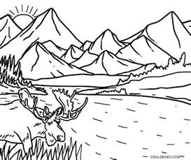 childrens coloring pages printable nature coloring pages for cool2bkids