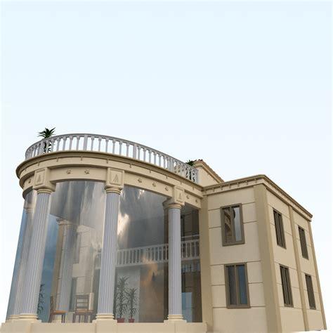 villa exterior 3d model 40 complete success clipgoo obj interior exterior house