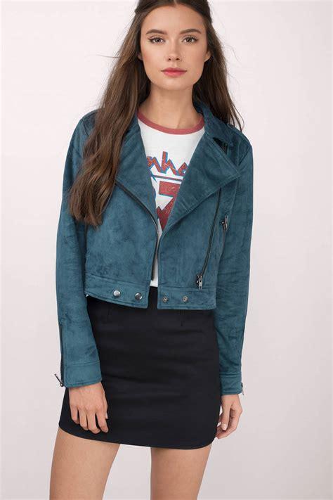 Cropped Jacket green jacket cropped jacket zipped front jacket 87