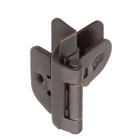 home depot cabinet hinge liberty 3 8 in satin nickel self closing inset hinge 1