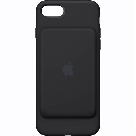 apple battery case apple iphone 7 smart battery case black mn002ll a b h photo