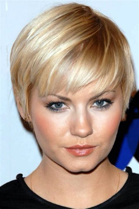 low maintenance hairstyles for large women over 60 round face low maintenance short bob short blonde bob dramatic