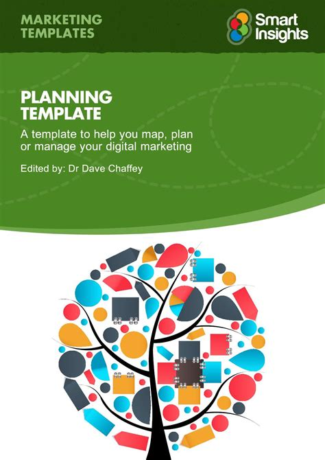 Digital Marketing Caign Planning Template by Race Digital Marketing Plan Template Smart Insights By Ya