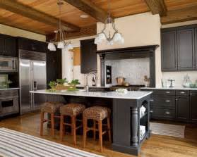 And various effects of colors by using black and white kitchen cabinet